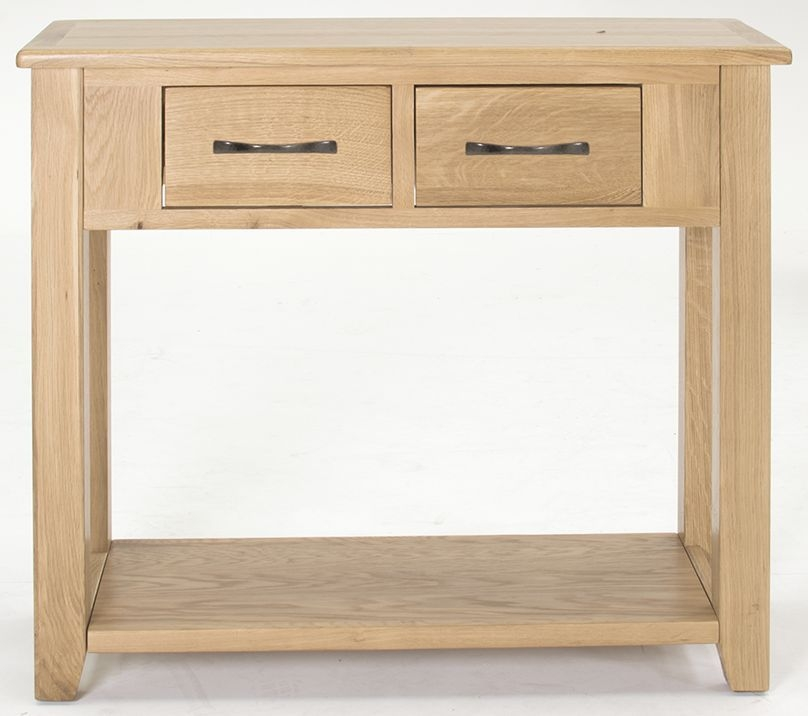 Vida Living Klara Oak Console Table