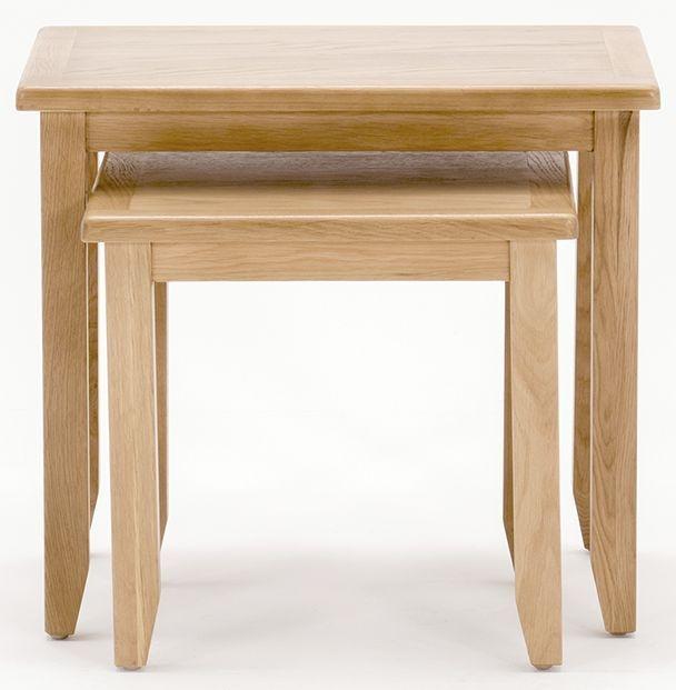 Vida Living Klara Oak Nest of Tables