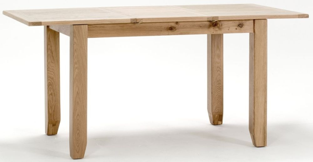 Vida Living Klara Oak Dining Table - Small Extending