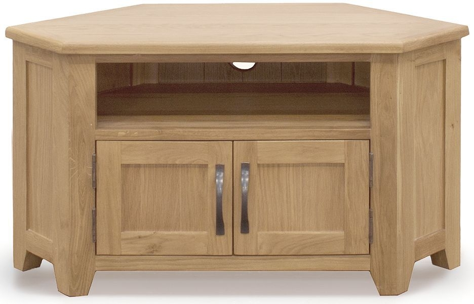 Vida Living Klara Oak TV Unit - Corner