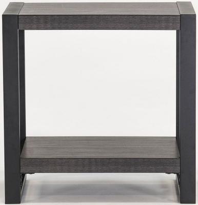Vida Living Branko Grey Lamp Table