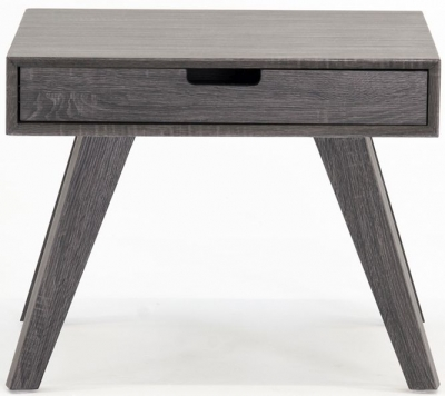 Vida Living Caiden Grey Lamp Table