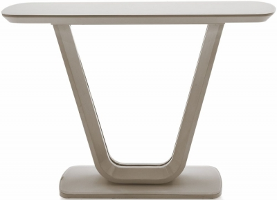Vida Living Lazzaro Cappuccino Matt Console Table