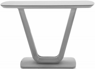 Vida Living Lazzaro Light Grey Matt Console Table