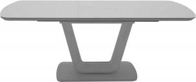 Vida Living Lazzaro 160cm-200cm Light Grey Matt Extending Dining Table
