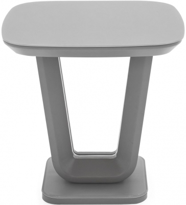 Vida Living Lazzaro Light Grey Matt Lamp Table
