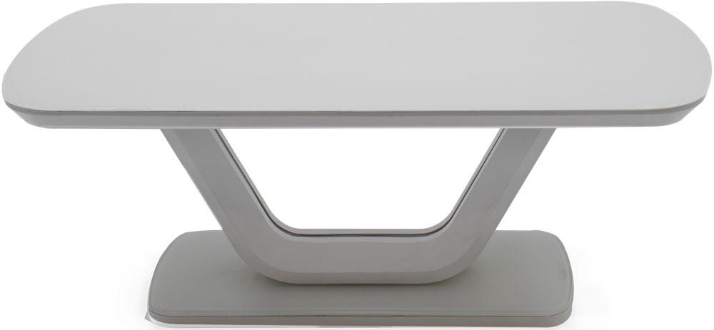 Vida Living Lazzaro Light Grey Matt Coffee Table