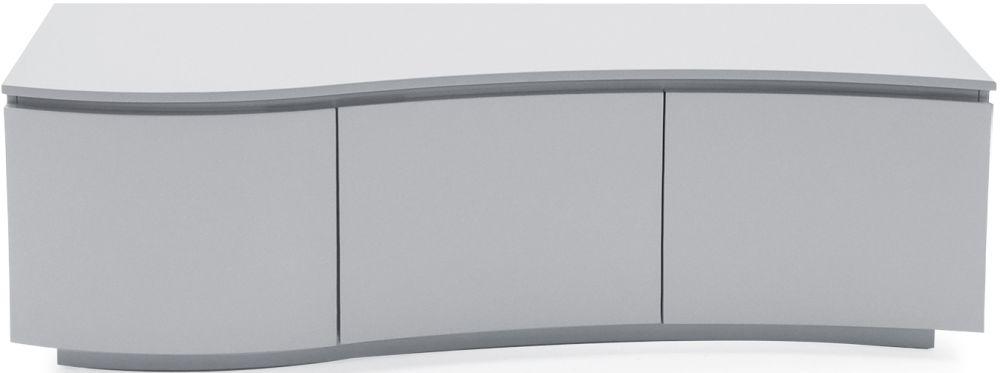 Vida Living Lazzaro Light Grey Matt TV Cabinet with LED