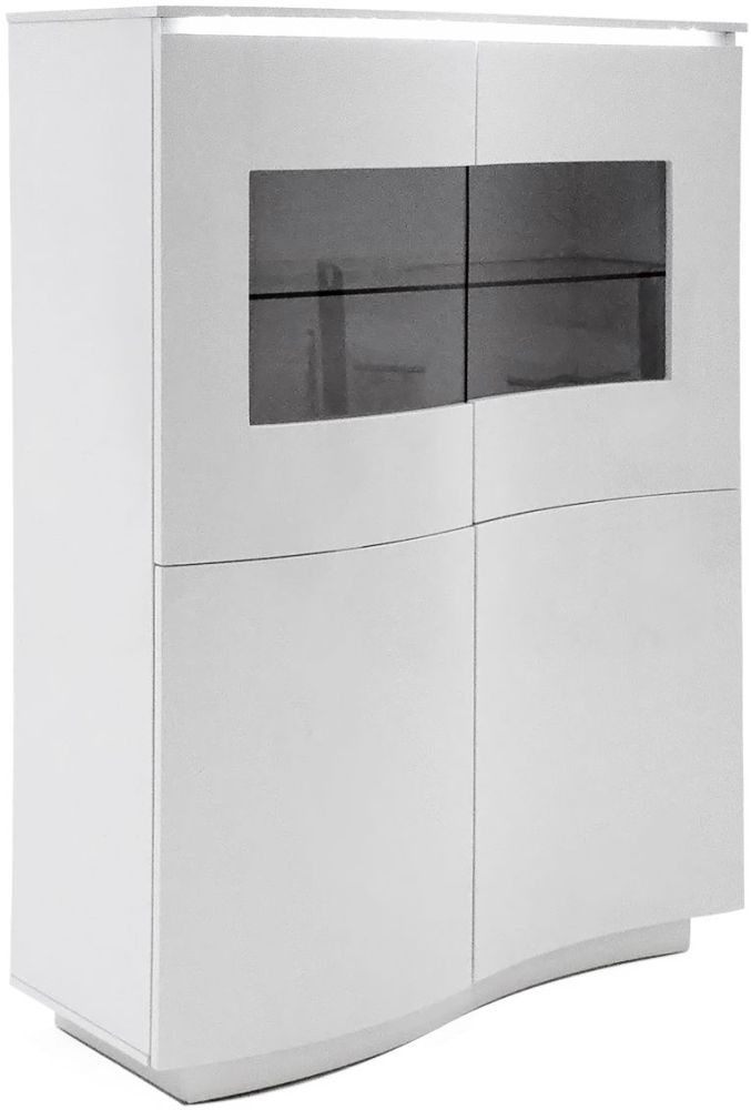 Vida Living Lazzaro Display Cabinet with LED