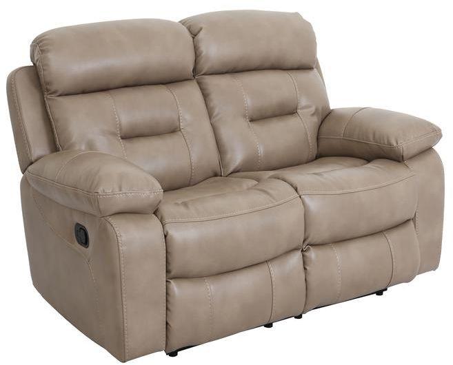 Vida Living Legend 2 Seater Pellaria Recliner Sofa - Nappa Taupe