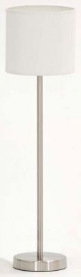 Vida Living Nera Nickel Floor Lamp