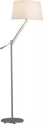 Vida Living Zain Nickel Floor Lamp