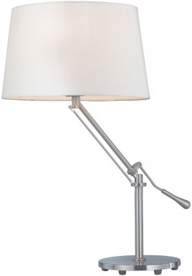 Vida Living Zain Nickel Table Lamp
