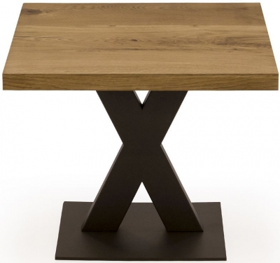 Vida Living Lindau Oak Lamp Table