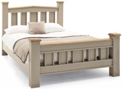 Vida Living Logan Taupe Painted Bed