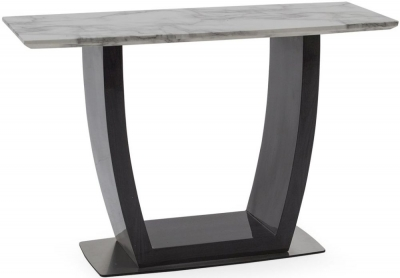 Vida Living Luciana Grey Marble Console Table