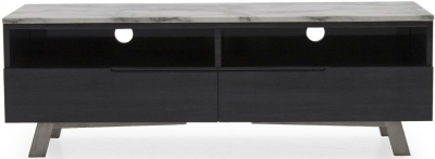 Vida Living Luciana Grey Marble TV Unit