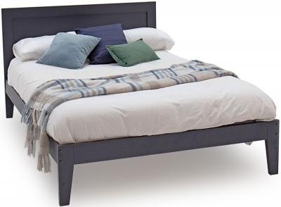 Vida Living Luna Blue Painted Bed