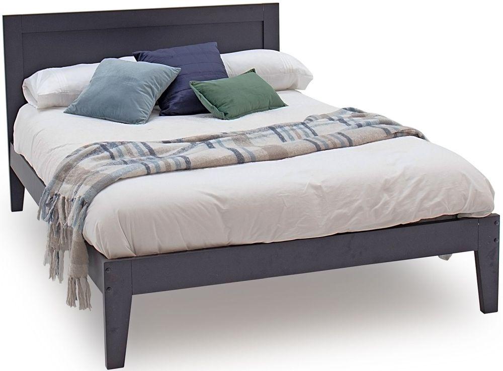 Product photograph showing Vida Living Luna Blue Bed