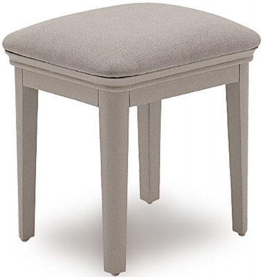 Vida Living Mabel Taupe Painted Dressing Stool