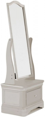 Vida Living Mabel Taupe Painted Cheval Mirror