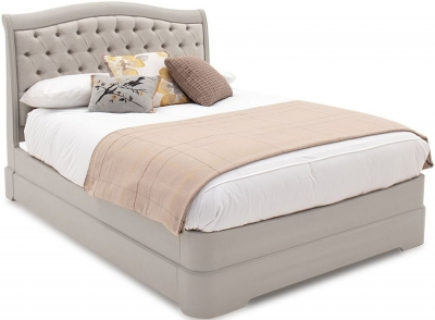 Vida Living Mabel Taupe Upholstered Bed