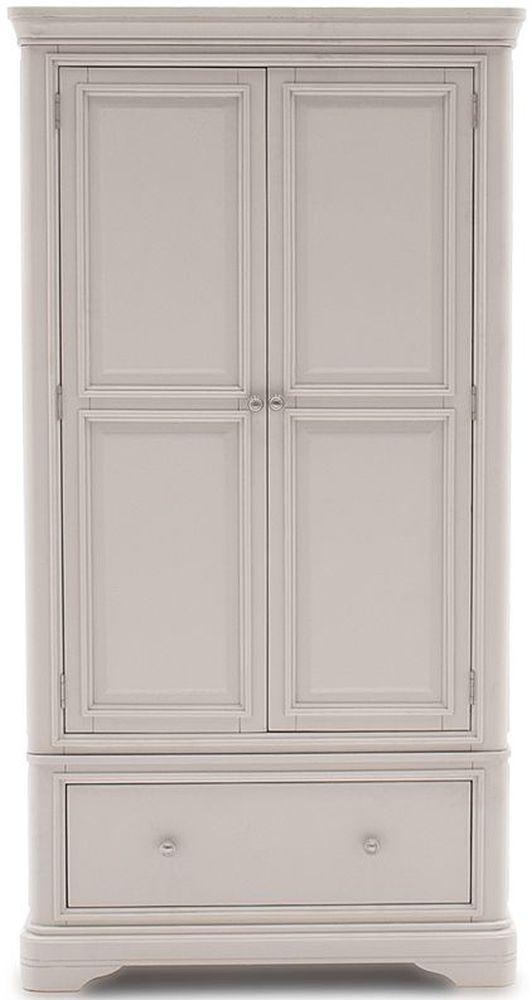 Vida Living Mabel Taupe 2 Door Wardrobe