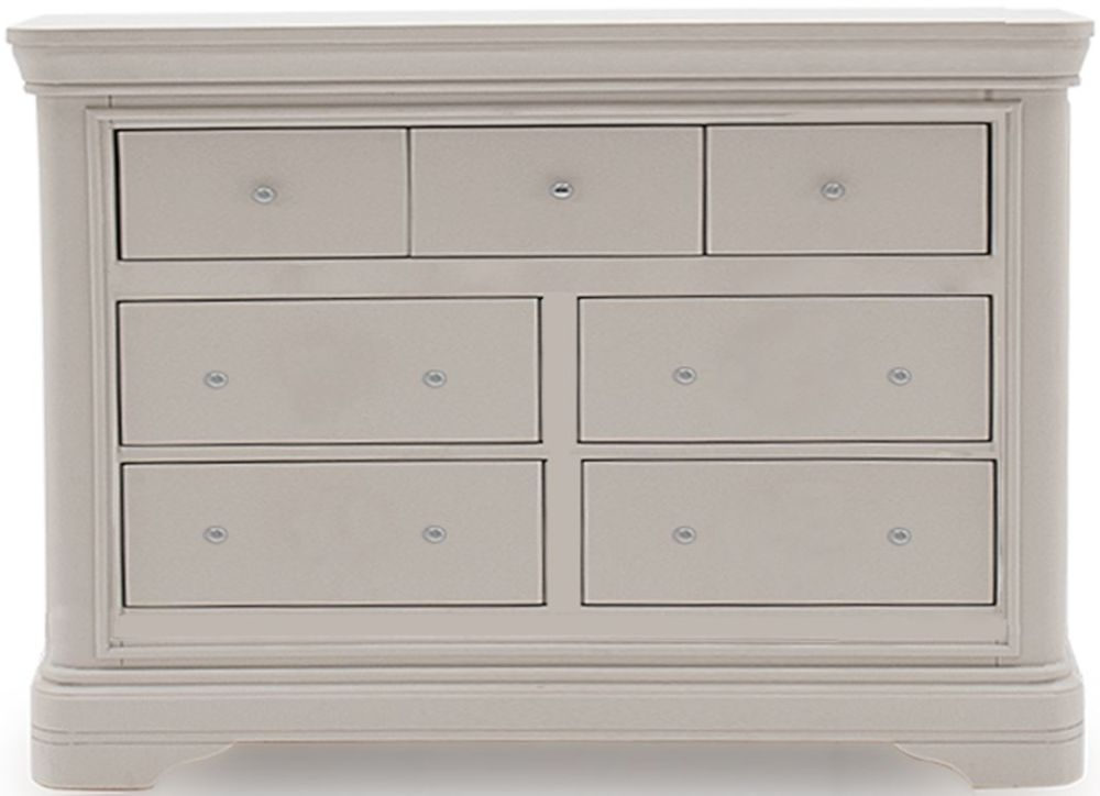 Vida Living Mabel Taupe 4+3 Drawer Chest