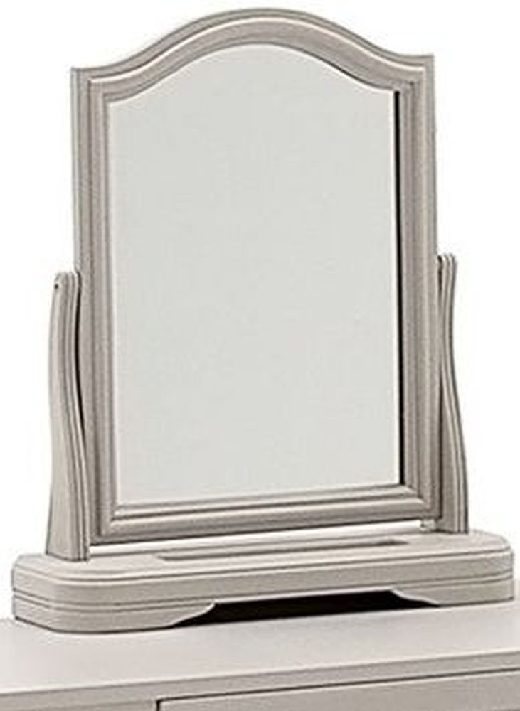 Product photograph showing Vida Living Mabel Taupe Arch Vanity Mirror