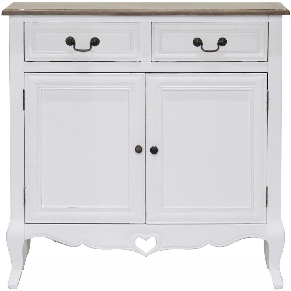 Vida Living Maeve Sideboard - White and Mindi Veneer