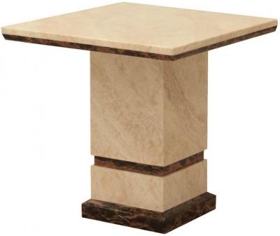 Vida Living Marcello Marble End Table