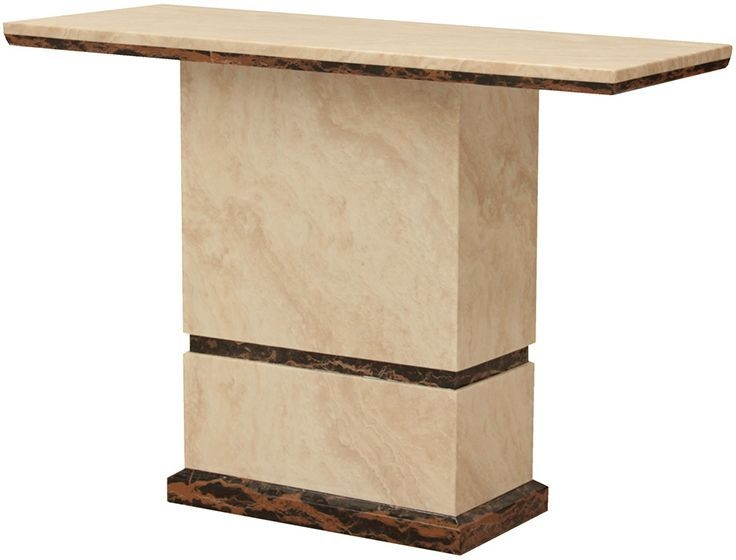 Vida Living Marcello Marble Console Table