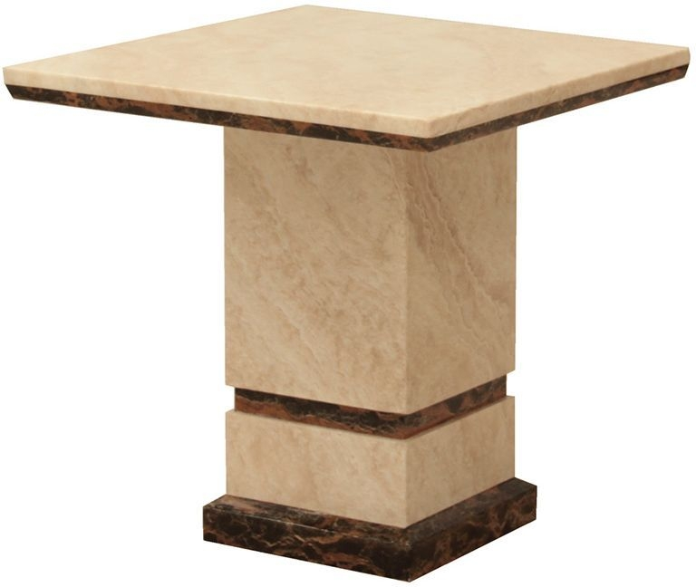 Vida Living Marcello Marble End Table