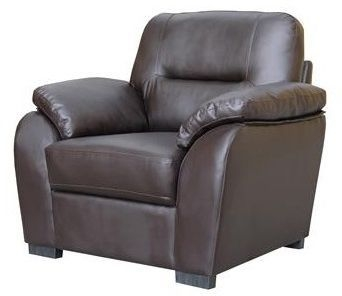 Vida Living Matteo Pellaria Recliner Armchair - Brown