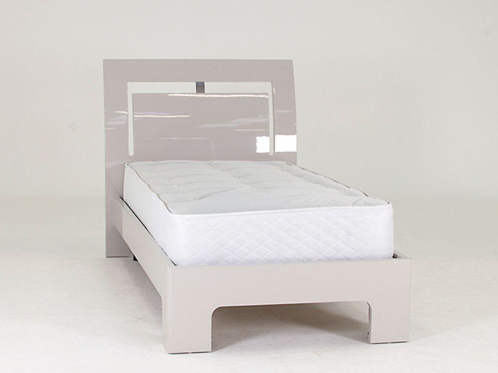 Vida Living Mirelle Grey Bed