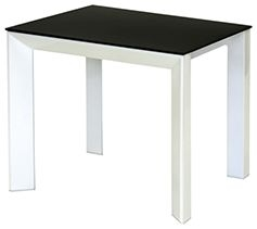 Vida Living Mobo Lamp Table - Black