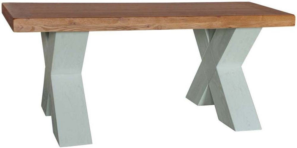 Vida Living Monroe Grey Painted Coffee Table