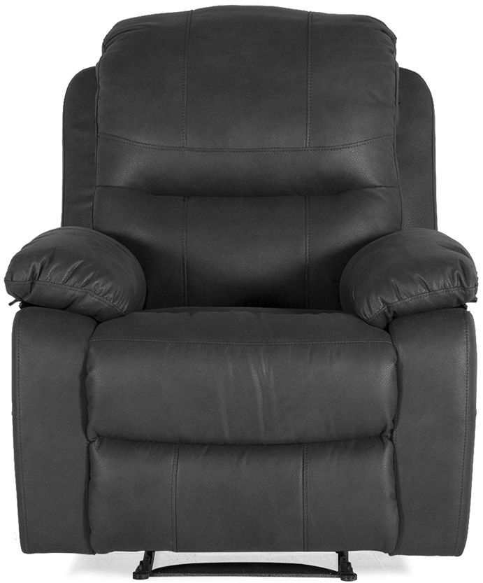 Vida Living Morley Grey Fabric 1 Seater Recliner Armchair