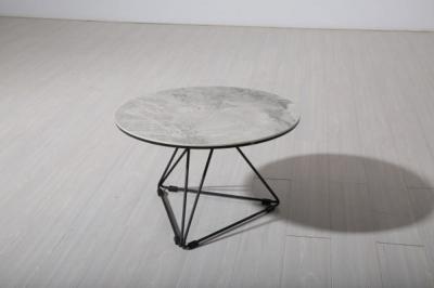 Vida Living Nero Grey Large Lamp Table