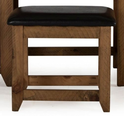 Vida Living New Forest Reclaimed Pine Stool