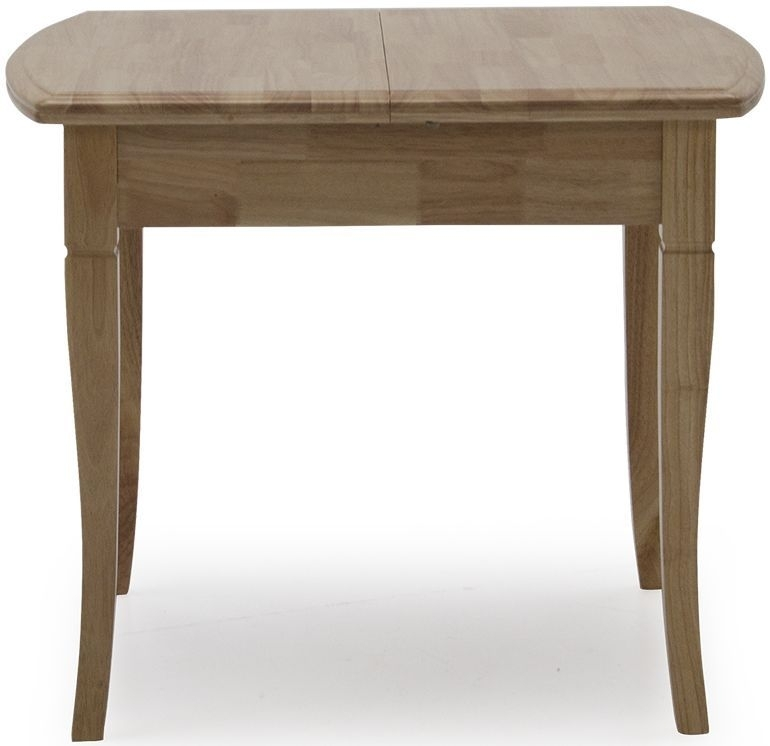 Vida Living Odessa Natural Square Extending Dining Table - 90cm-130cm