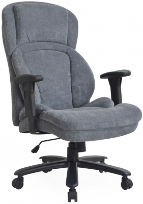 Vida Living Chairman Grey Fabric Office Chair