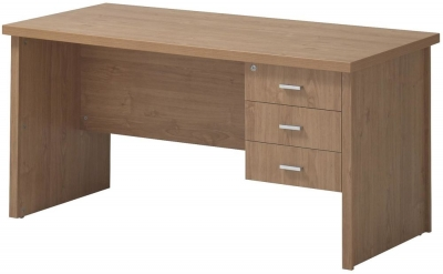 Vida Living Oscar Desk - 3 Drawer Large