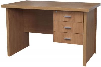 Vida Living Oscar Desk - 3 Drawer Small