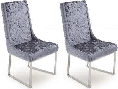 Vida Living Olena Damson Dining Chair (Pair)