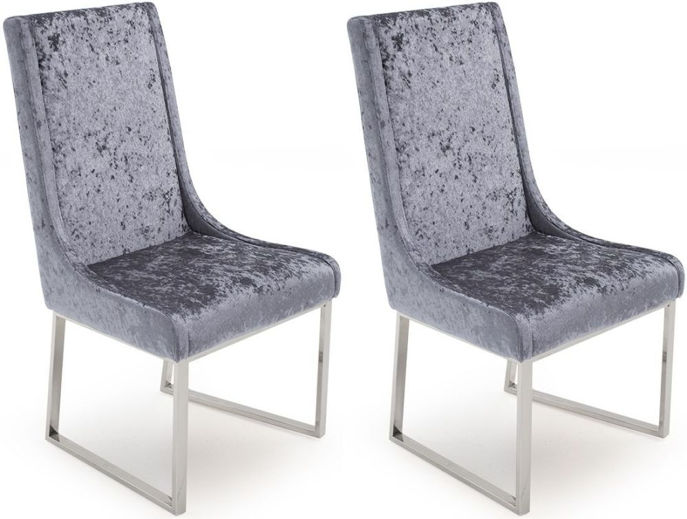 Vida Living Olena Damson Dining Chair (Pair)