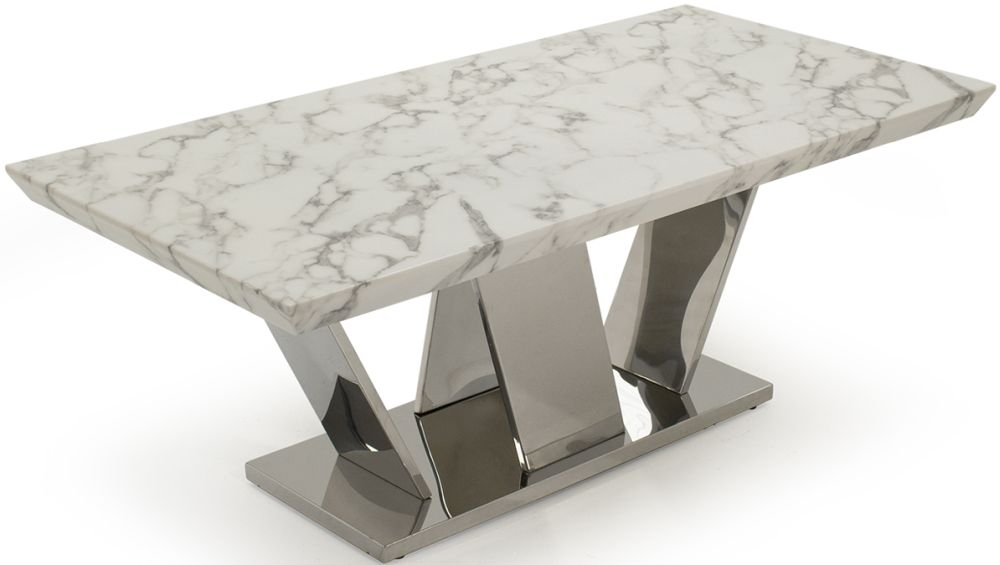 Vida Living Olena Marble Coffee Table