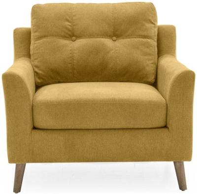 Vida Living Olten Citrus Fabric Armchair