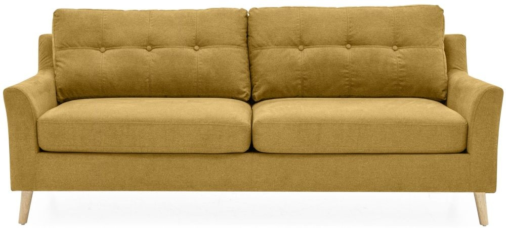Vida Living Olten Citrus Fabric 3 Seater Sofa
