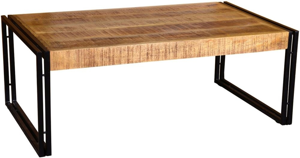 Vida Living Orleans Rustic Coffee Table